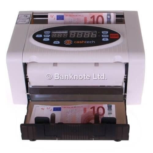 3-Cashtech 340 A UV  Geldscheinzähler