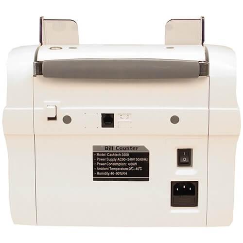 3-Cashtech 3500 UV/MG Geldscheinzähler