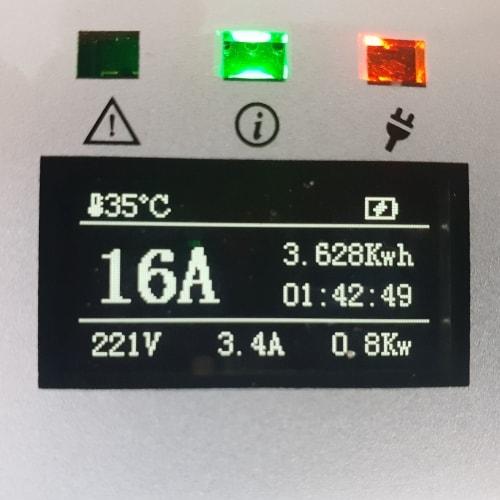 3-EV EVSE Type2 (max. 16A) Elektroauto Ladekabel
