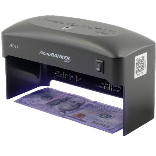 1-AccuBANKER LED61 Geldscheinprüfer