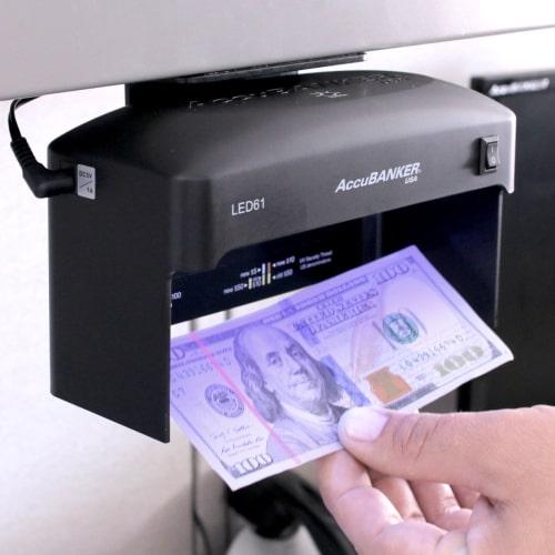 2-AccuBANKER LED61 Geldscheinprüfer